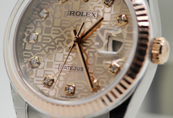 Best Fake rolex datejust 36mm steel and rose gold for sale