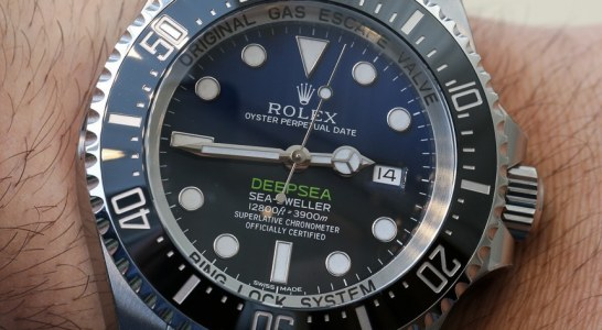 Top Quality Rolex Deepsea Sea-Dweller D-Blue Watch For James Cameron Hands-On Low Price Replica