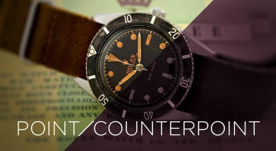 Point/Counterpoint: Are Vintage Watches Worth It? Replica For Sale