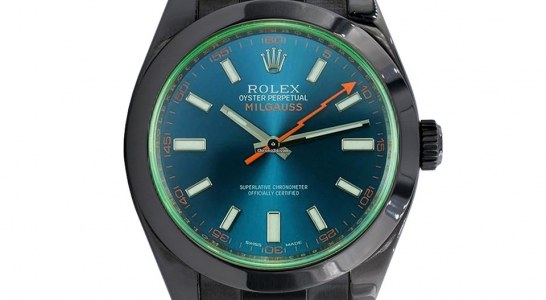 Rolex Milgauss 116400 BLACK VENOM LIMITED EDITION /35 DLC PVD Replica Wholesale Center